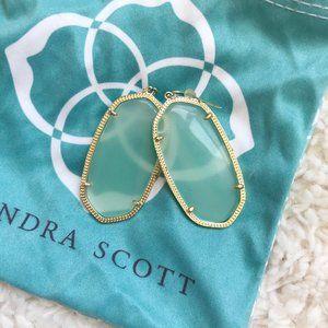 Kendra Scott Danielle Earrings In Sea Foam / Mint